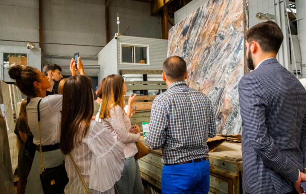 Семинар для дизайнеров и архитекторов в галерее натурального камня