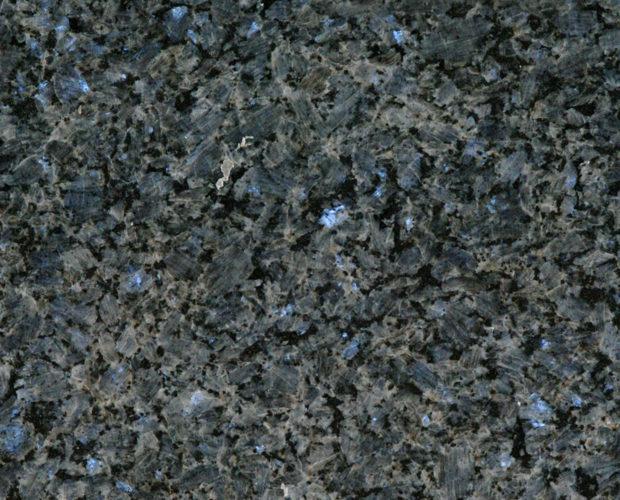 Blue Perl - синий гранит добываемый в Норвегии