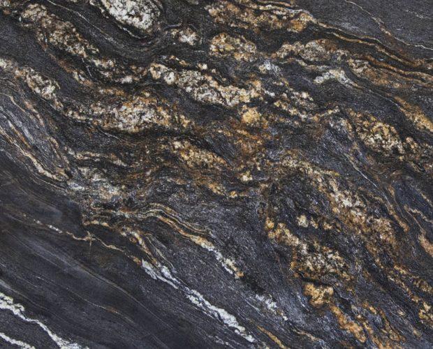 Black Fusion один из самых необыкновенных по красоте гранитов
