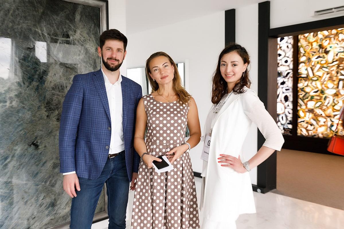 Бизнес-завтрак для дизайнеров и архитекторов совместно с CharmeStone - 25.07.2019 г.