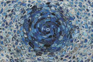 Agate Blue Tornado - один из самых неординарных агатов